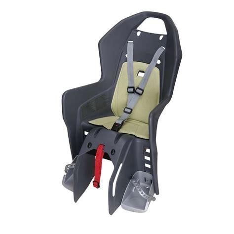 siege porte bebe velo siège vélo enfant koolah sur porte bagages decathlon