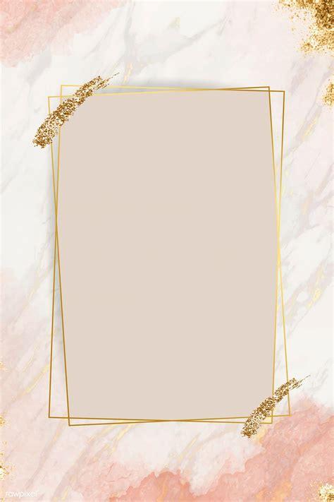 Download premium vector of Shimmering golden frame design