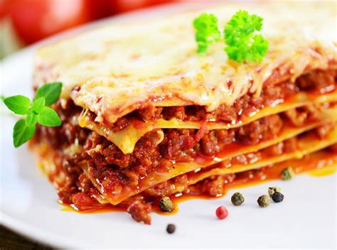 recette cuisine noel recette lasagnes à la bolognaise