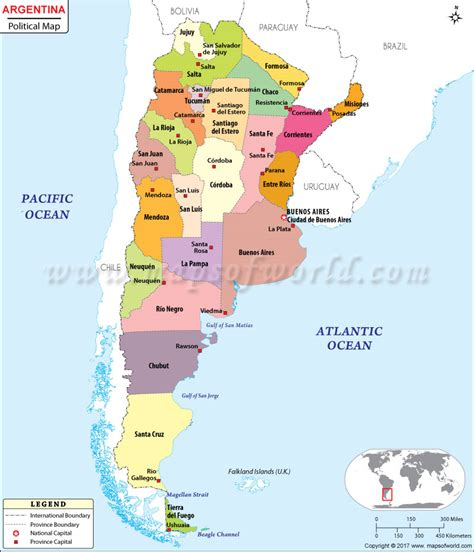 maps map argentina