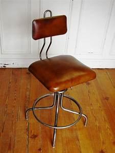 Chaise Style Industriel : chaise de bureau industriel ~ Teatrodelosmanantiales.com Idées de Décoration