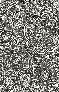 Black and White Pattern by stephanie-vala on DeviantArt