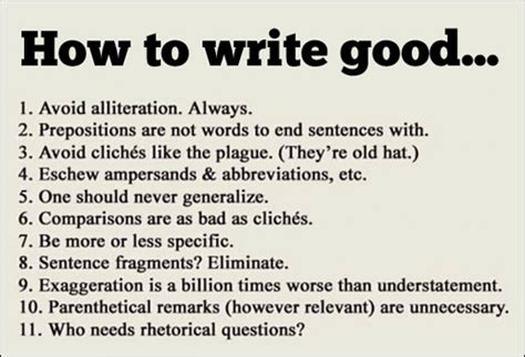 "Tips For Writing ""good""   Wake Forest University"
