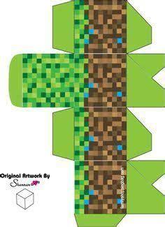Minecraft basteln austrucken / minecraft bastelbogen zum ausdrucken : MEINKWAFT   basteln für Kinder   Pinterest   Minecraft, Minecraft geburtstag und Bastelideen