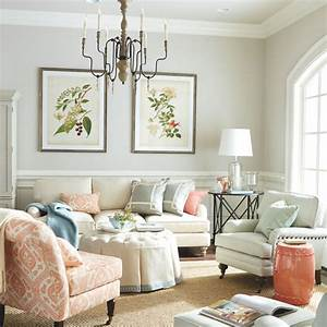 White Living Rooms With Pops Color