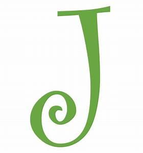 Letter J Initial Vinyl Car Decal Window Sticker Monogram