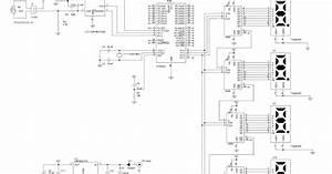 Wiring Schematic Diagram  Thermometer Based On