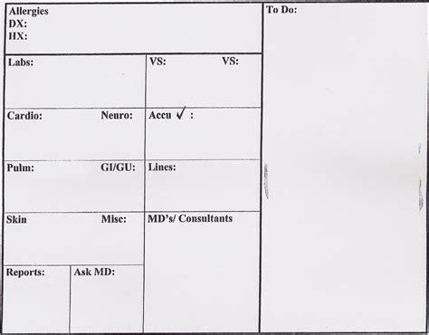 nurse report templates emmamcintyrephotographycom