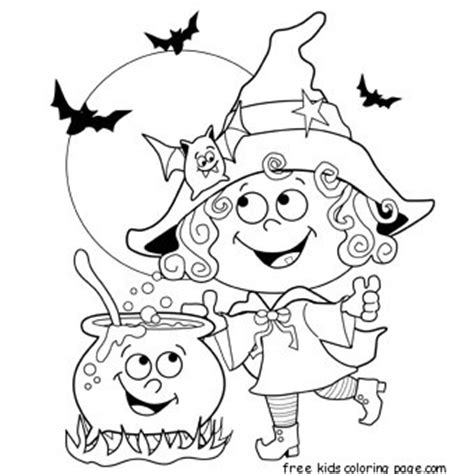 printable halloween witch coloring pagesfree printable