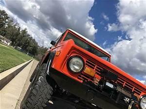 1974 Ford Bronco 4x4 Off Road Suv Southern California Baja