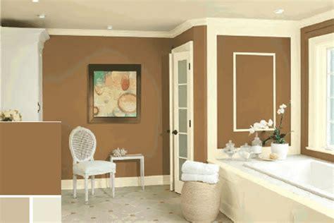 inspirasi cat dinding elegan rumah minimalis modern