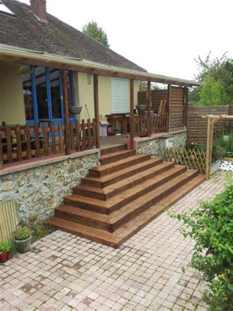 faire un escalier exterieur en bois escalier exterieur en bois