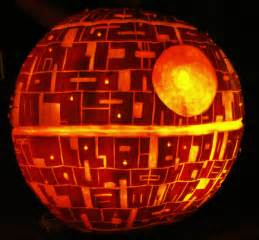 Drilled Pumpkin Patterns by Carving The Death Star