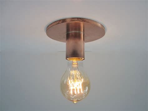 flush mount ceiling light or wall sconce industrial