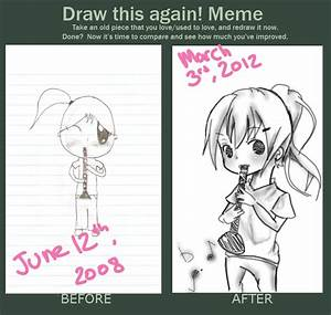 draw this again meme by rabupep on deviantart With draw this again meme template