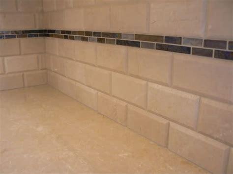 ceramic subway tile kitchen backsplash subway tile with accent my kitchen makeover