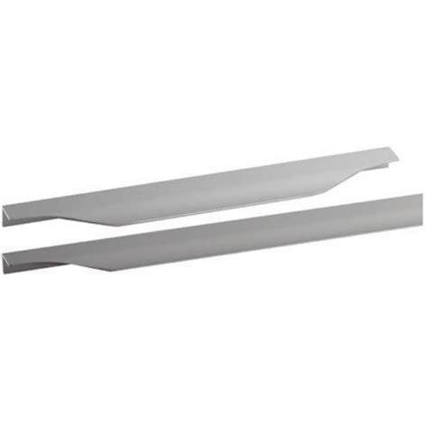poignees meubles cuisine poignée cuisine aluminium tirette vague