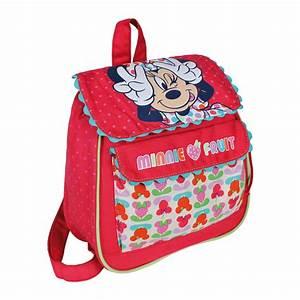 sac a dos minnie cartable pour maternelle 27 cm de With affiche chambre bébé avec sac à dos fleuri