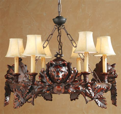 Chandelier Forest by Rustic Chandeliers Black Forest Chandelier Black