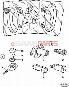 30584617 saab key blank genuine saab parts from With saab key diagram