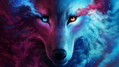 hd wallpaper wolf art fantasy art eyes wild animal
