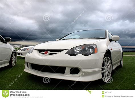 Japanese Sports Cars Stock Photography