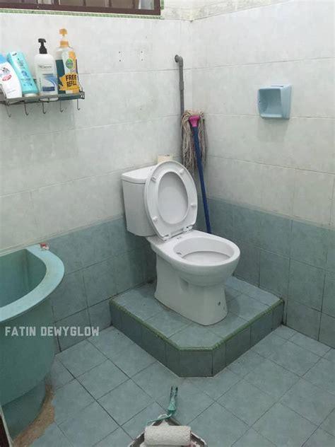 idea deko bilik air simple tapi dah macam bilik air hotel