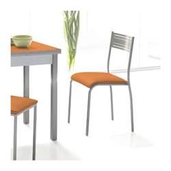 Chaise De Cuisine But chaise de cuisine moderne en m 233 tal florida 4 pieds