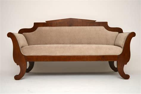 2nd couches for sale antique biedermeier satinbirch sofa antiques atlas