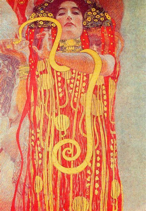 Klimt Of Vienna Ceiling Paintings by Of Vienna Ceiling Paintings Medicine Detail