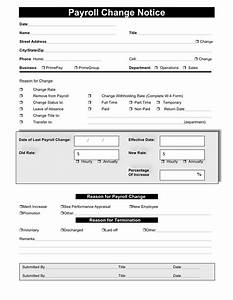 payroll change form template militarybraliciousco With payroll status change form template