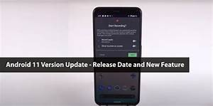 Android 11 Version Update