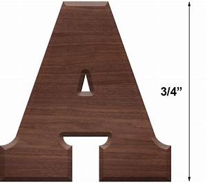 wooden letters extra small 3 4 inch tall solid hardwood With 3 4 inch wooden letters