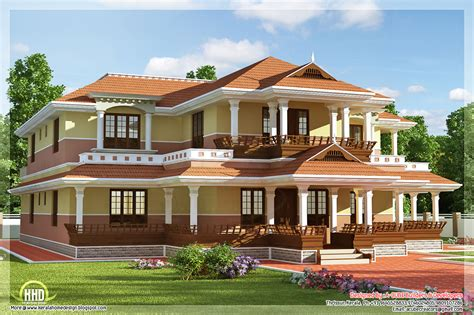 Keral model 5 bedroom luxury home design Home Sweet Home