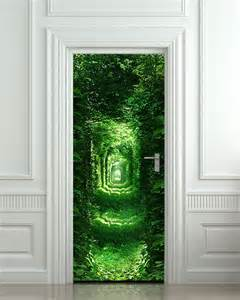 jugendzimmer wald optische täuschung mit fototapet wald für innentüren freshouse