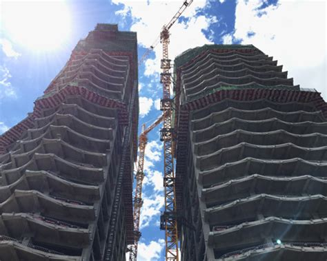 Chaoyang Park Plaza By Mad Architects Tops Out In Beijing