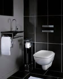 Carrelage Wc Mural la d 233 co des wc noir et blanc osez c est chic toilet