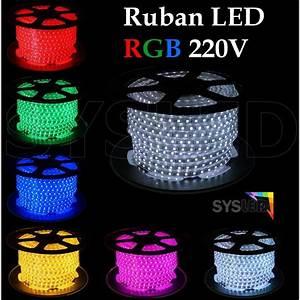 Ruban A Led : rubans led sysled achat vente de rubans led sysled ~ Melissatoandfro.com Idées de Décoration