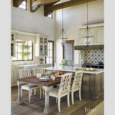 Standard Height Seating At A Kitchen Island Is Usable By