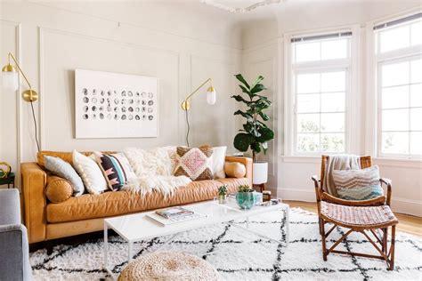 scandi boho decor style    la casa
