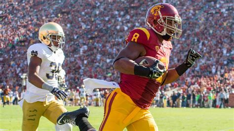 notre dame  usc  start time  stream tv