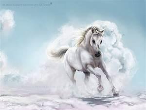 White Horse by ManiacalMew on DeviantArt
