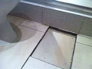 uneven bathroom floor tiles tiling job in glasgow With tiling an uneven floor