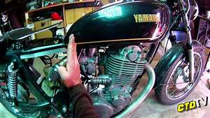 Yamaha Sr500 - Wiring Coverplate - Springer Seat
