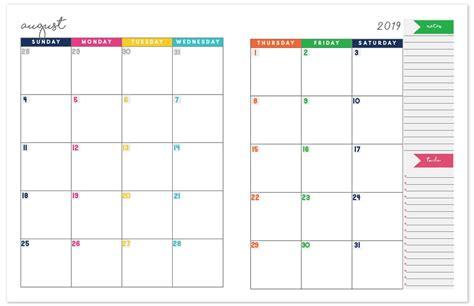 monthly planner calendar calenders planner printables
