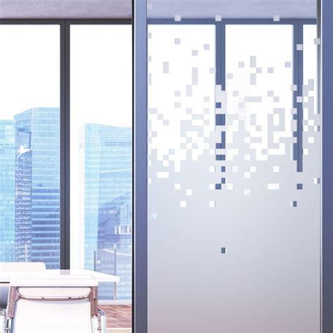 sticker occultant pour baie vitrée et espace professionnel