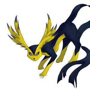 Pokemon Eevee Evolution Flying