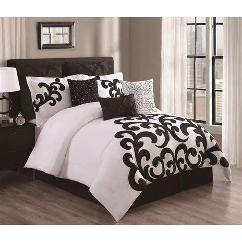 empress black and white cotton 9 comforter