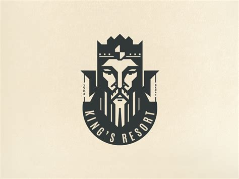 king logo  aldo hysenaj kings resort