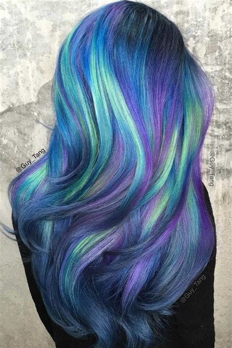 25 Best Ideas About Blue Ombre Hair On Pinterest Blue